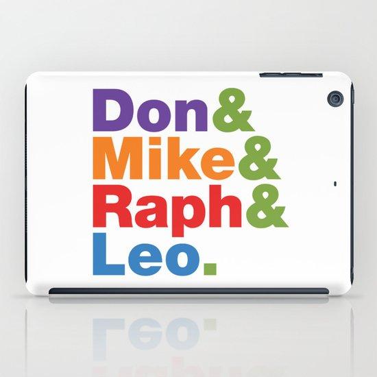 Don & Mike & Raph & Leo. iPad Case
