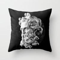 Sculpture Head II Throw Pillow