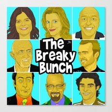 Breaky Bunch Canvas Print