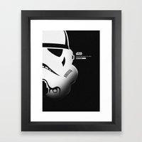 SW SOLDIER Framed Art Print