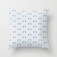 Flamingo / Flamenco  Throw Pillow