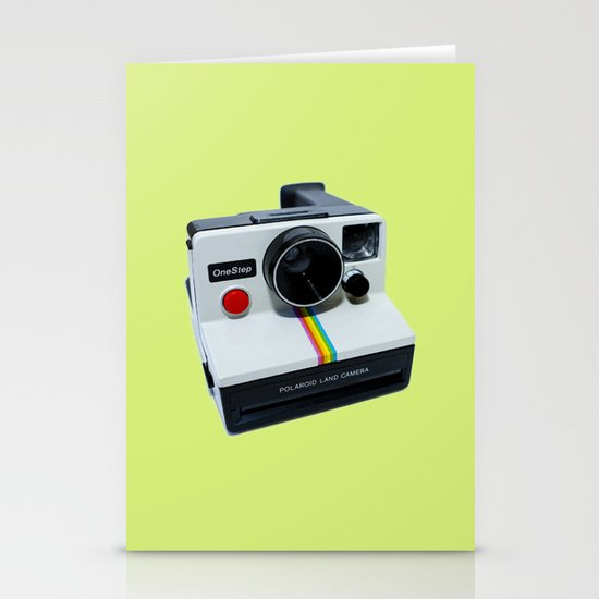 Polaroid OneStep Camera Stationery Card