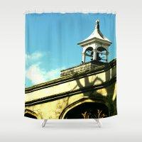 Quaint Village Shower Curtain