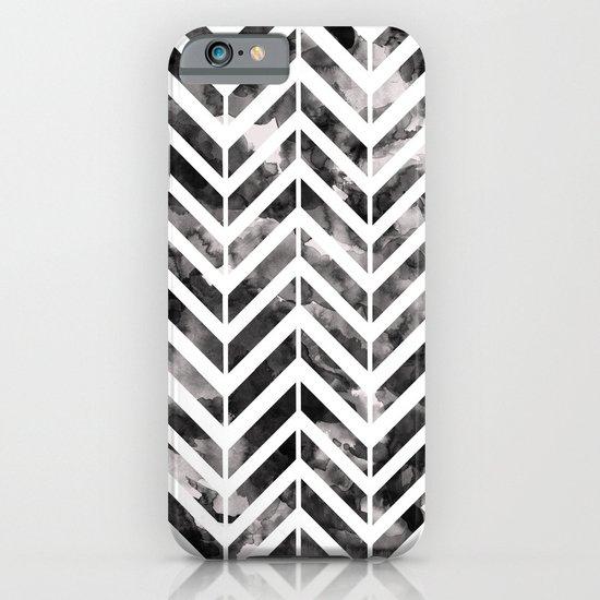 Brush Chevron iPhone & iPod Case