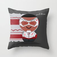 ChibizPop: Wally Throw Pillow