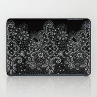 B&W Lace iPad Case