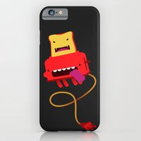 iPhone & iPod Case featuring Toast made me do it by mrbiscuit