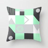 Geometrie Throw Pillow