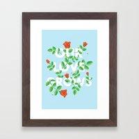 Our Love Grows Framed Art Print