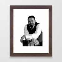 Braxton Beauregard III Framed Art Print