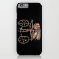 iPhone & iPod Case featuring The Biker by Rudolf Brancovsky