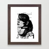 I Have Seen Love Framed Art Print