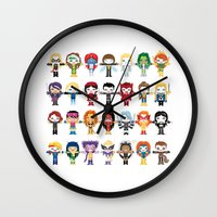 WOMEN WITH 'M' POWER Wall Clock