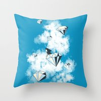 Like A Diamond In The Sk… Throw Pillow