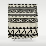 Shower Curtain featuring MALOU ZEBRA by Aztec
