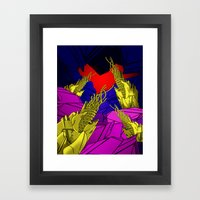 AUTOMATIC WORM 6 Framed Art Print