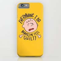 iPhone & iPod Case featuring CHARLIE BROWN by Josh LaFayette