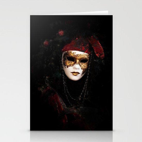 Mask 6 Stationery Card