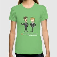 Not The Adventures Of Mo… Womens Fitted Tee Grass SMALL