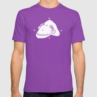 Death Strange Mens Fitted Tee Ultraviolet SMALL