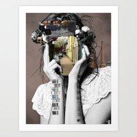 Crazy Woman - Lara Lisa … Art Print