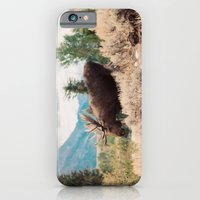 iPhone & iPod Case featuring Moose 2 by Leslee Mitchell