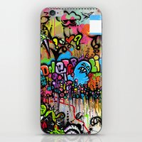 A Monster City Hello iPhone & iPod Skin