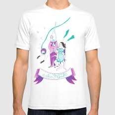 Sea Freaks Mens Fitted Tee SMALL White