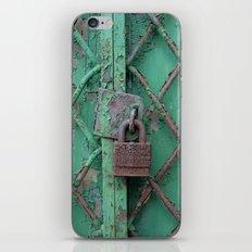 Rusty Lock iPhone & iPod Skin