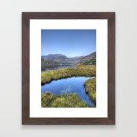 Ogwen's Pond Framed Art Print