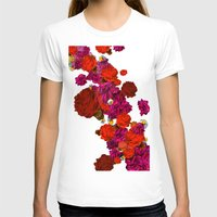 roses T-shirts featuring roses by Marcella Wylie