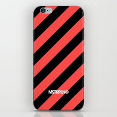 Infrared Lines / Black iPhone & iPod Skin