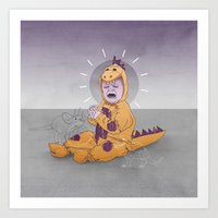 Sickly Child Art Print