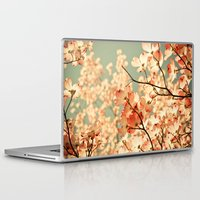 photography Laptop & iPad Skins featuring Pink by Olivia Joy StClaire