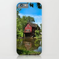 Old Red Grist Mill iPhone 6 Slim Case