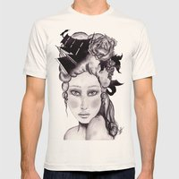 Shipwrecked Antoinette Mens Fitted Tee Natural SMALL