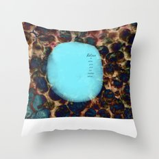 affirmation... Throw Pillow