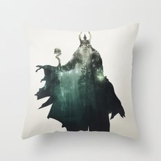 The Lich Throw Pillow