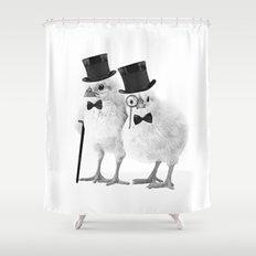 Not CHEEP (Version 2) Shower Curtain