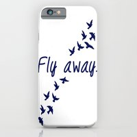 iPhone & iPod Case featuring Fly Away. by ParadiseApparel
