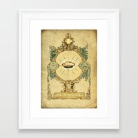 The holy miraculous talking pie Framed Art Print