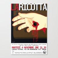 La Ricotta Canvas Print