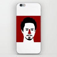 Robert John Downey Jr. iPhone & iPod Skin