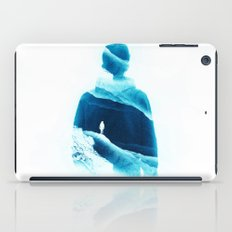 Love Isolation In Teal iPad Case