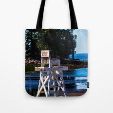 Life guard off duty - enjoy the beach Tote Bag