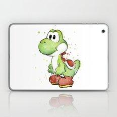 Yoshi Watercolor Mario Laptop & iPad Skin