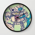Helplessness Demon Wall Clock