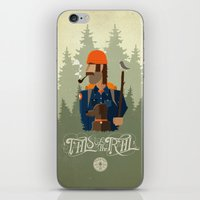 Tails Of The Trail iPhone & iPod Skin