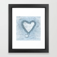 Freed Heart Framed Art Print