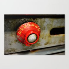Heating Up Canvas Print